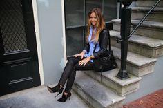 Niz Cherradi   fashion blogger fashionista love style ootd Balenciaga DNA Burberry Dune Hermes Cartier