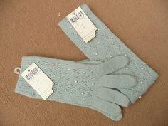 Vintage 80s Winter Gloves set Morgan Taylor by HeelsOnaShoestring, $39.90