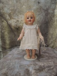 """#309/23 Rare 9.5 """" All bisque character from thetenderyears on Ruby Lane"""