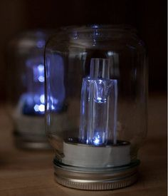 DIY Mason Jar Solar Lights   DIY Outdoor Lantern Ideas   Beautifully illuminate your backyard with these 21 handmade outdoor lantern.