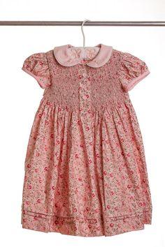 Little Princess Smock Dress by TheCheerfulChickadee on Etsy