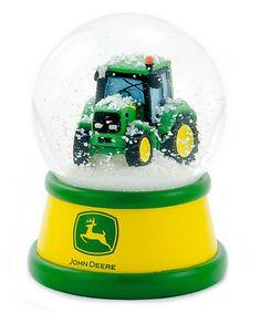 Love this John Deere Tractor Water Globe on #zulily! #zulilyfinds