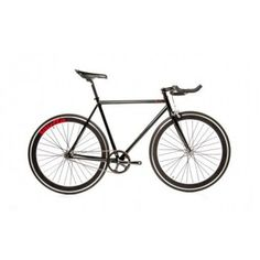 Quella Bicycle One Black Fixed Gear Single Speed Bike 2013 - 59cm Frame, £489