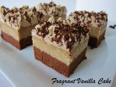 Raw Tiramisu Brownies #vegan