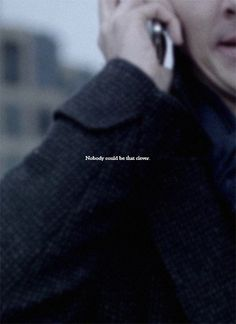 """Purple_Shirt_of_Sex_Addict - """"You could."""" I always thought Sherlock was chasing compliment here. And John complied, and that - Sherlock Holmes Quotes, Sherlock Fandom, Sherlock John, Sherlock Shirt, Sherlock Poster, Sherlock Moriarty, Watson Sherlock, Sherlock Holmes Benedict Cumberbatch, Benedict Cumberbatch Sherlock"""