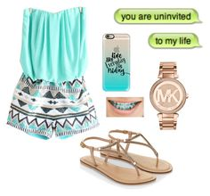 """""""• Pictures  •"""" by sparky17 ❤ liked on Polyvore featuring Michael Kors, Casetify and Monsoon"""