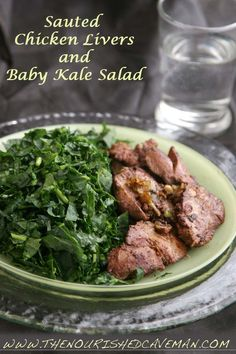 Sauteed Chicken Liver Recipe for Ketogenic Diet Week Meal Plan- Tuesday day 3 | The Nourished Caveman