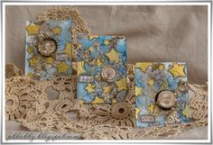 Scrap Made in Touraine: ATCs - Mixed Media Place DT