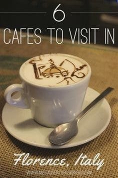 Cafes To Visit In Florence, Italy #ItalyPhotography #ItalyVacation #LivinginItaly #ItalyTravel