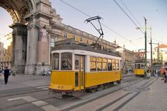 The ferrocarril of Lisbon