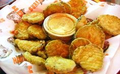 7 Hooters Recipes - Fried Pickles is listed (or ranked) 2 on the list The Best Hooters Recipes