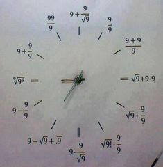 Anyone got the time?