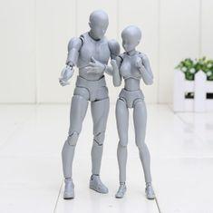 Uranny corps-Chan modèle de corps Kun Poupée PVC Body-Chan DX ACTION play art figure