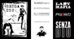 Marzo 2015 in tutta Italia il 5 episodio del fumetto noir d'autore Lady Mafia Conosceremo il Pakkiano