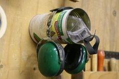 Ear & Eye Protection Storage.