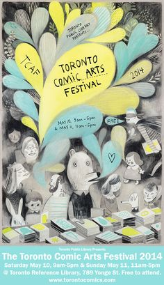 Toronto Comic Arts Festival - May