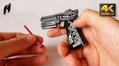 How to Build the Lego Technic Gun (MOC - 4K)