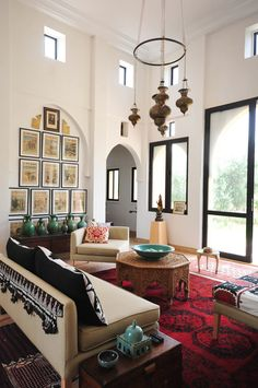 Peacock Pavilions Design Hotel in Marrakech Morocco. Design by M.Montague. Moroccan Design