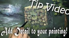 Have you ever wondered how you can get more detail in your paintings? Watch Kevin's Free Tip video and learn different tips and techniques for using the Detail Round brush to get even more detail in your paintings. For more information about the detail round brush, please visit: www.paintwithkevin.com