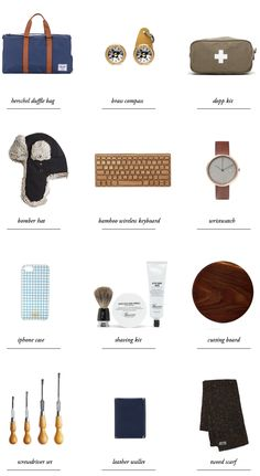 gift guide for him // smitten studio