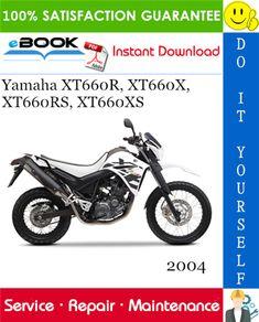 2004 Yamaha Xt660r Xt660x Xt660rs Xt660xs Motorcycle Service Repair Manual Repair Manuals Yamaha Repair