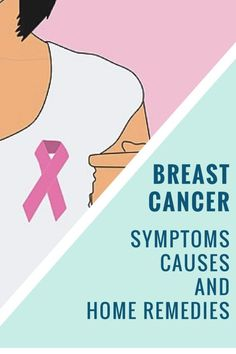 Breast Cancer Symptoms, Causes And Home Remedies