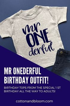 1st birthday party planning 1st Birthday Shirts, 1st Birthday Outfits, 1st Boy Birthday, 1st Birthday Parties, 1st Birthdays, Inspiration For Kids, Flat Lay, Party Planning, Kids Outfits