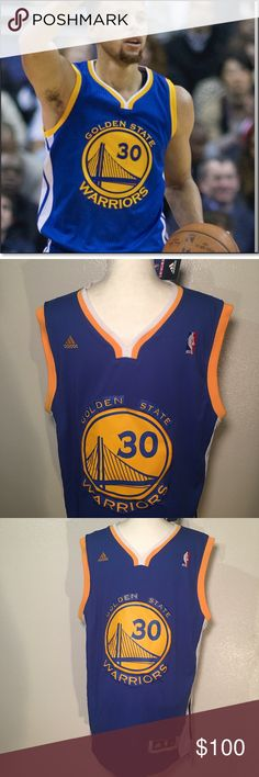 d25953004 NWT Golden State Warriors NBA Jersey Swingman Golden State Warriors Stephen  Curry Royal Player ADIDAS Swingman Road Jersey Prove you are the  1 Stephen  ...