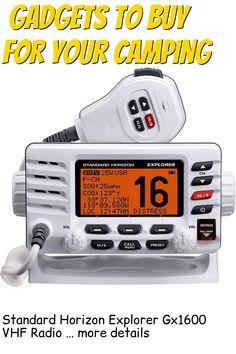 (This is an affiliate pin) Standard Horizon Explorer Gx1600 VHF Radio