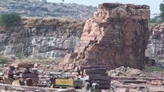 Stone Mines In #Rajasthan - a unique place to #visit during our rajasthan #tour. #travel #tourism #destination