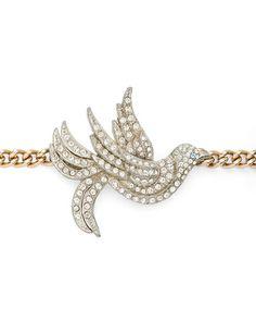Sparkling Bird Bracelet