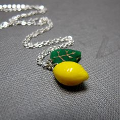 I've got a thing for retro fruit jewelry...