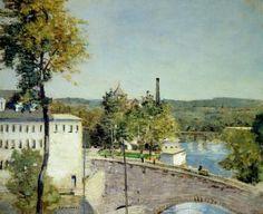 The Athenaeum - U.S. Thread Company Mills, Willimantic, Connecticut (Julian Alden Weir - circa 1893-1897)