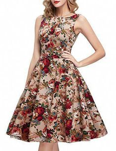 online shopping for IHOT Vintage Tea Dress Floral Spring Garden Retro Swing Prom Party Cocktail Party Dress Women from top store. See new offer for IHOT Vintage Tea Dress Floral Spring Garden Retro Swing Prom Party Cocktail Party Dress Women Party Dresses For Women, Casual Summer Dresses, Casual Dresses For Women, Sexy Dresses, Clothes For Women, Fashion Dresses, Bandage Dresses, Beach Dresses, Floral Dresses