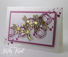Stamp Review Crew - Swirly Bird. Kelly Kent - mypapercraftjourney.com.