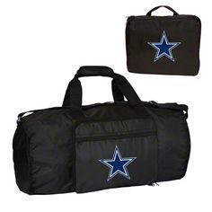 Dallas Cowboys Fold-Away Duffle Bag