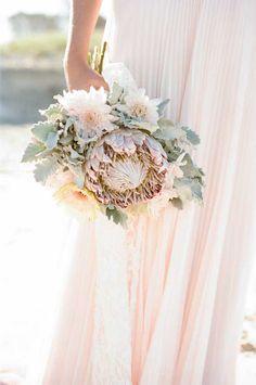 Protea Bouquet | Proteas for Weddings | Bridal Musings Wedding Blog 8