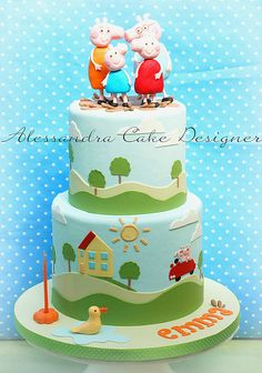 cake peppa pig | Flickr: Intercambio de fotos
