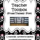 I am a big fan of Pinterest!  Last year I saw a pin posted several times for the Teacher Toolbox.  I knew instantly I had to make one for myself. I...