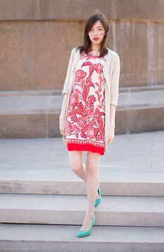 Red and blue (by SASYA Yu) http://lookbook.nu/look/3311515-red-and-blue