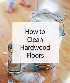 There are different ways to clean hardwood floors to make them shine and look as good as know. You can give your wood floors basic care, a deep clean, or you can simply remove marks and stains that have shown up on your flooring. We'll show you the best way to do each method.