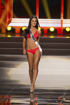 Ariella Arida -- 2013 Miss Universe Runner-up Ariella Arida, Costa Rica, Miss Universe 2013, Miss Philippines, Swimsuits, Bikinis, Swimwear, Beauty Pageant, Beauty Queens