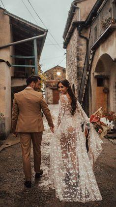 100 Boho Wedding Decor Finds You'll Love! | The Perfect Palette The Wedding Date, Boho Wedding Dress, Rustic Wedding, Wedding Gowns, Wedding Bells, Dream Wedding, Backless Gown, Berta Bridal, Garden Wedding Decorations