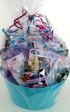 Disney's Frozen Gift Basket #Disney