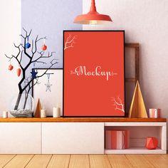 Free-Room-Interior-Poster-MockUp-Psd