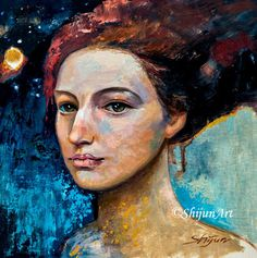 Available Recent Work - Shijun Art First Story, Portrait, Face, Painting, Headshot Photography, Painting Art, Portrait Paintings, The Face, Paintings