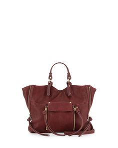 Everette+Mini+Crossbody+Bag,+Burgundy+by+Kooba+at+Neiman+Marcus.