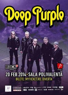 Pionieri ai curentelor heavy metal si hard rock modern, membriiDeep Purplerevin in Romania pentru un concert ce va avea loc pe20 februarie... Rock Music News, Subic, Deep Purple, Hard Rock, Heavy Metal, Music Videos, Album, History, Concert