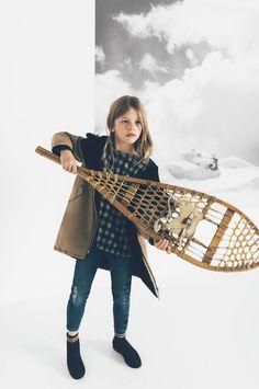 ZARA - #zaraeditorial - EDITORIALS - COLD DAYS   KIDS