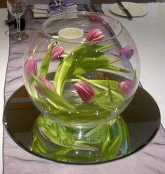 Goldfish Bowl Decoration Ideas Fish Bowl Centerpieces  Table Centerpieces Decorations With These